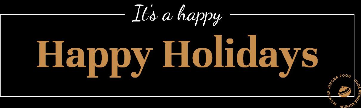 happy happy holiday