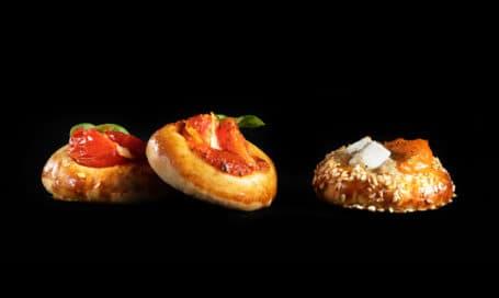 פיצתות של מונייר מגשי אירוח