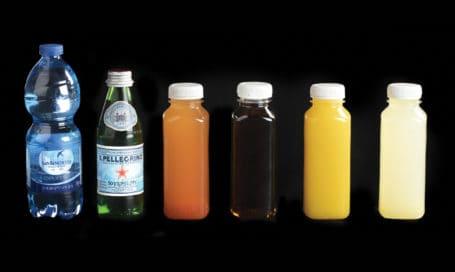 שתייה קלה מוגזת וטבעית