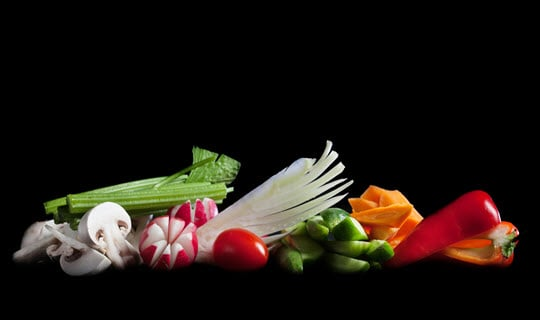 מגש לקט ירקות גינה