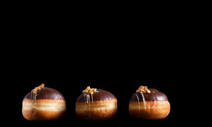 סופגניות גנאש שוקולד